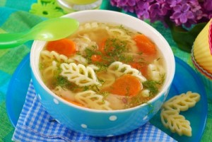 Chicken soup for the flu
