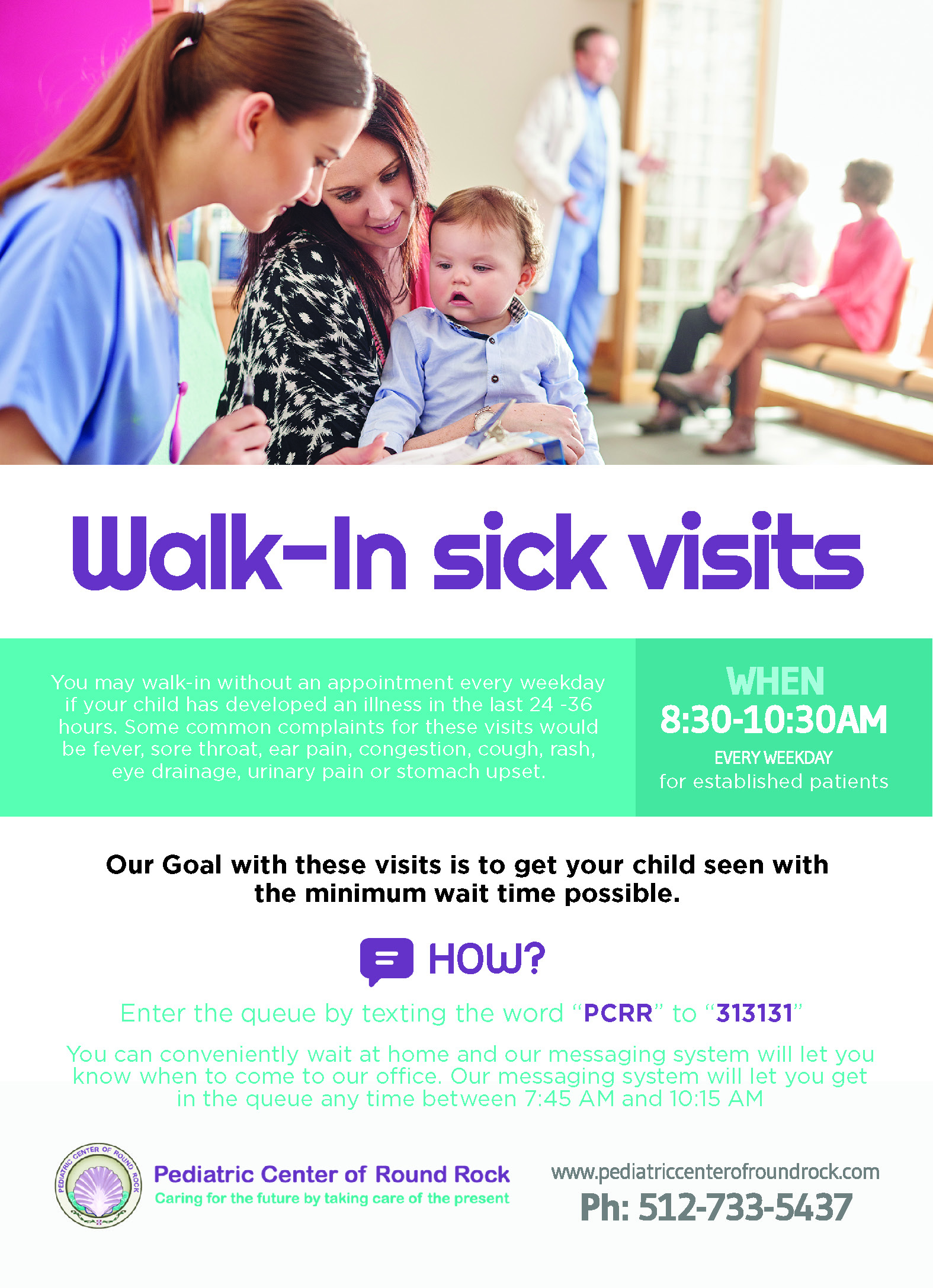 Walk-In sick visits